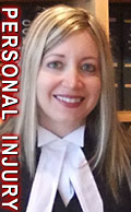 Charlotte Salomon, QC, personal injury lawyer, experienced in ICBC car accident injuries claims disputes e.g. catastrophic brain injury cases , plus , wills, residential real estate conveyancing, and  general civil litigation cases in Victoria