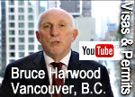 Bruce Harwood & Saba naqvi expalin the differences of  cross border travel vs doing work when a work visa / work permit is require d in the USA / Canada under NAFTA rules - CLICK TO  their You Tube presentation