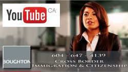 Saba Naqvi, Canada & California, USA immigration lawyer based in Vancouver, BC - CLICK TO YOU TUBE INTRODUCTION