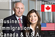 Canada & USA Business Immigration lawyers Bruce Harwood and Saba Naqvi (California Attorney) - CLICK FOR MORE INFO