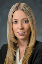 Jessica Kliman, JD , associate lawyer with  McConnan Bion O'Connor Peterson , personal injury  team