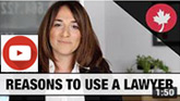YouTube video of Mary Keyork, a Toronto & Montreal immigration lawyer talking about Reasons to use an experienced immigration lawyer - CLICK TO YOUTUBE video
